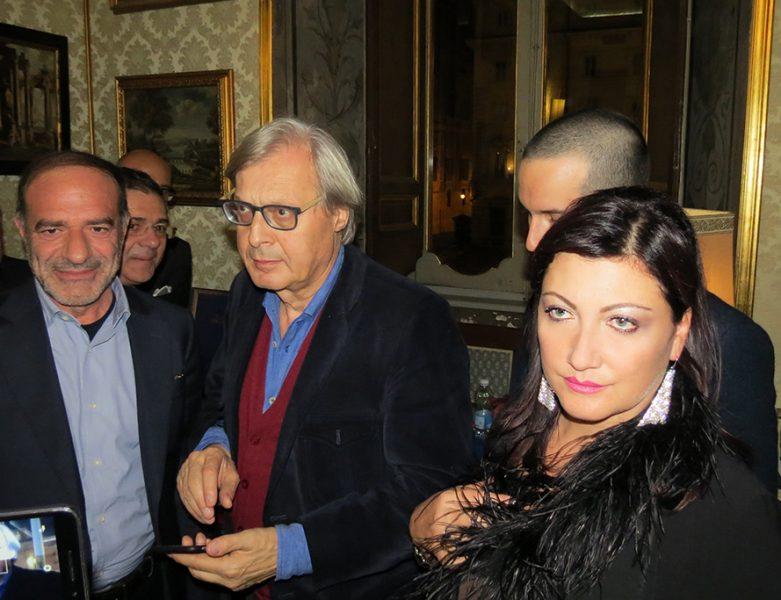 Vittorio Sgarbi e Katia La Rosa